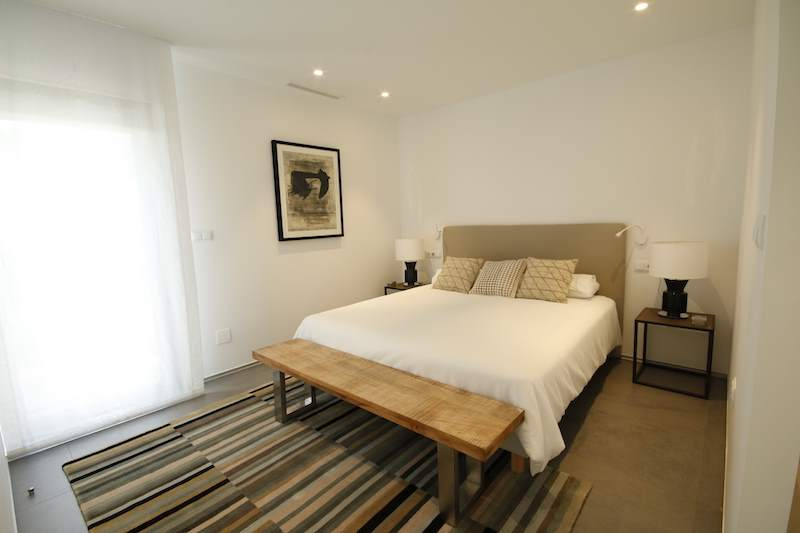 Bedroom new build homes at la manga club   las acacias