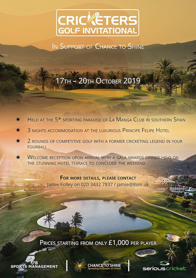 Cricketers Golf Invitational