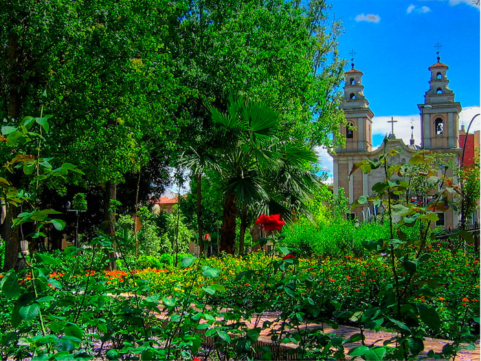 Floridablanca, the first public garden in Spain near your La Manga Club villa