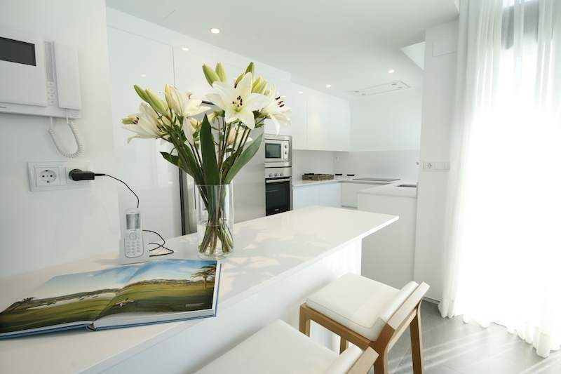 Kitchen las acacias luxury residences la manga club