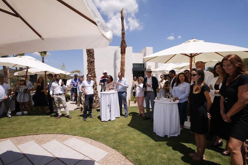 Launch party 2018 las acacias villas la manga club
